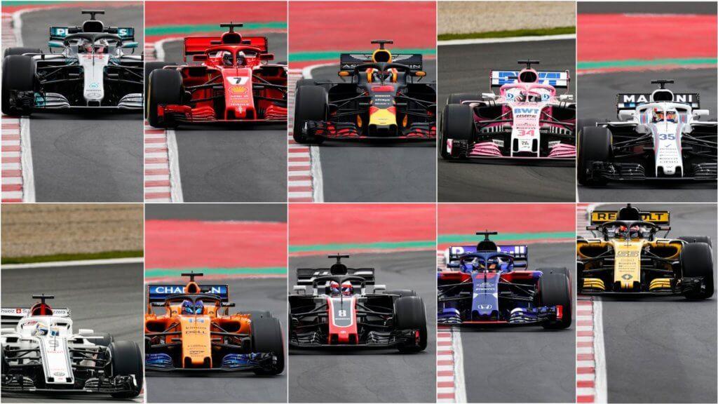 第1回F1合同テスト 1日目