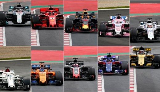 2018 第1回F1合同テスト バルセロナ 1日目を終えて トロロッソ・ホンダVSマクラーレン・ルノーの行方