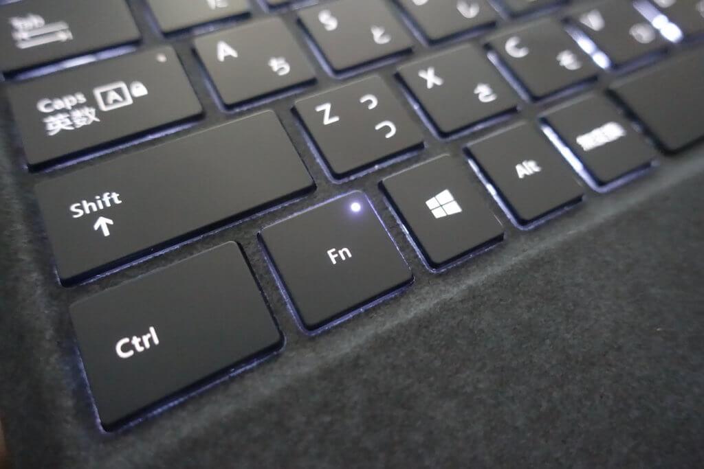 SurfacePro タイプカバー Fnキー