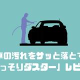 車の汚れをサッと落とす 「ごっそりダスター」レビュー