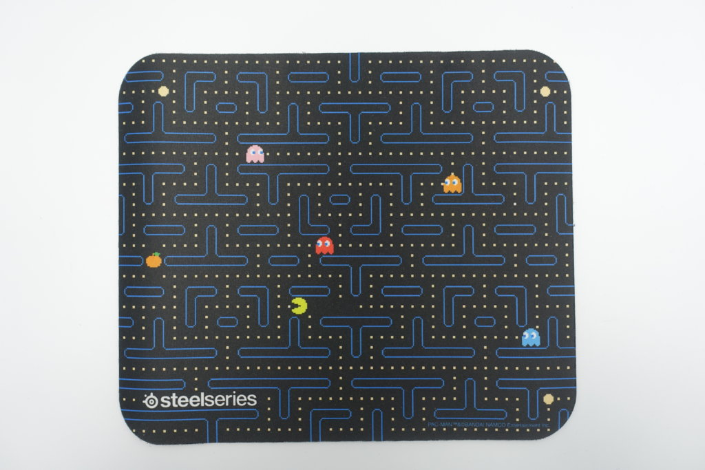SteelSeries Qck マウスパッド Pac-Man Edition
