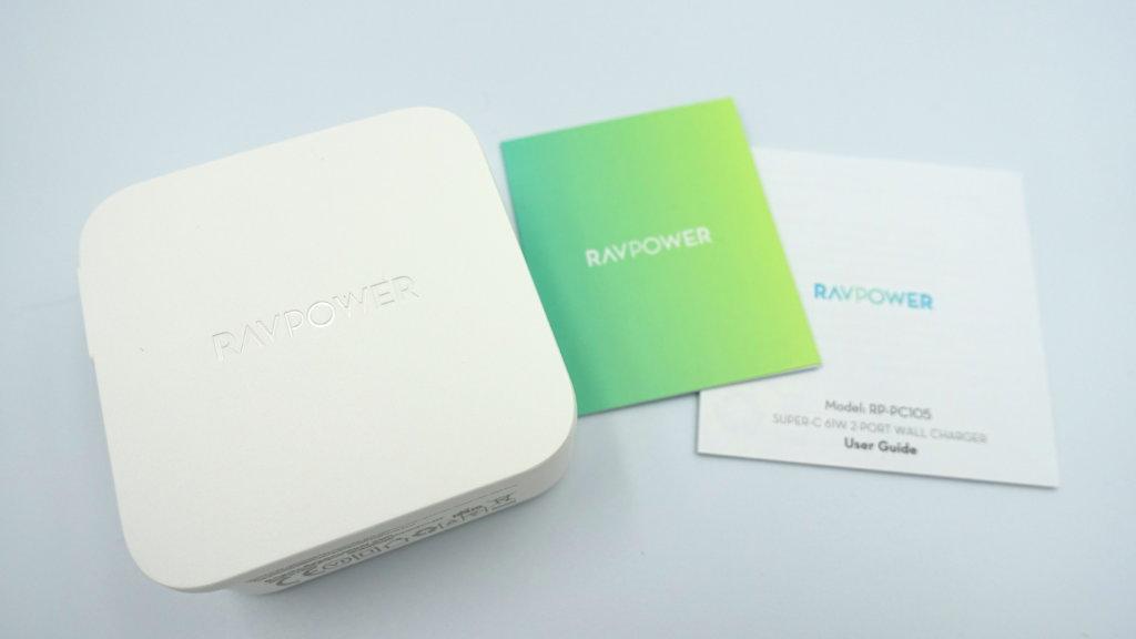 RAVPower USB-C急速充電器 内容物