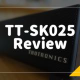 TaoTronicsのBluetoothスピーカー「TT-SK025」をレビュー!コンパクトだけとパワフルなコスパ最高のサウンドバー【PR】